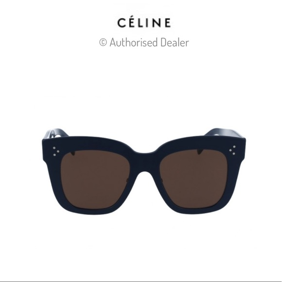 578be75f2280 Celine Accessories | Cline Square Havana Kim 41444 Sunglasses | Poshmark